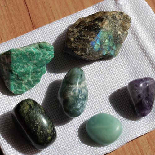 Calming energy Healing Crystals Kit