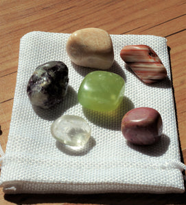 """Transformation Aid"" Healing Crystal Set"
