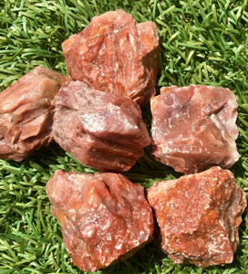 Red Calcite (rough) Healing Crystals