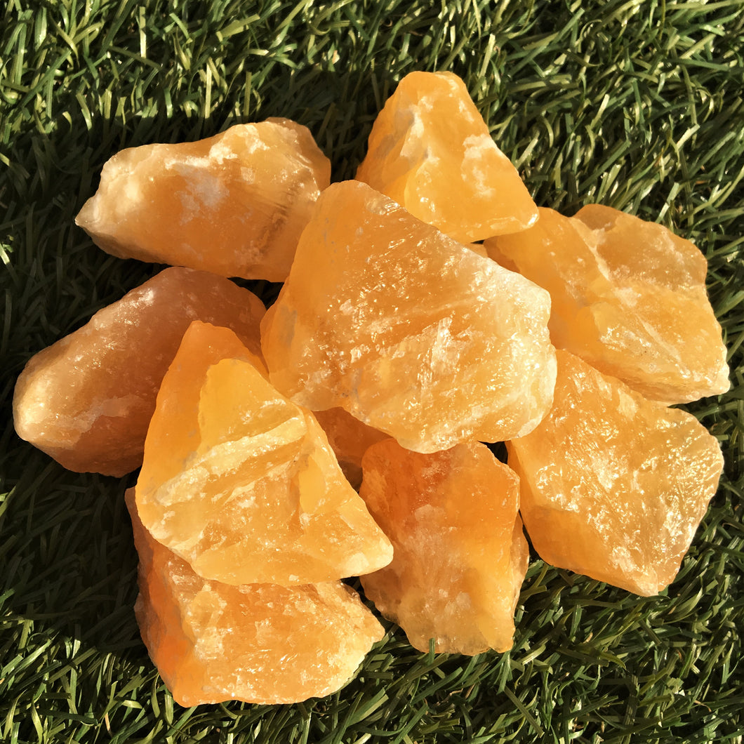 Orange Calcite (rough) Healing Crystals