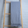 Solid Grey Throw