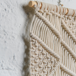 Natural Macrame Wall Hanging - Sashaaworld