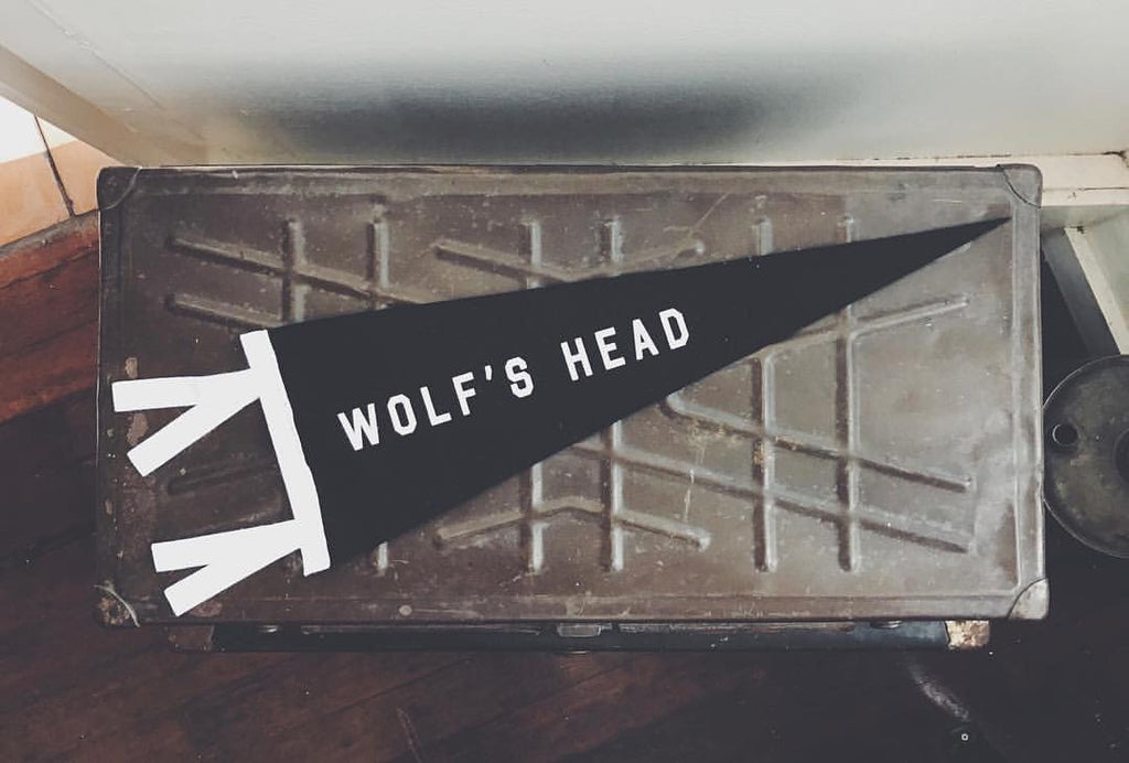 The Wolf's Head X Oxford Pennant Team Pennant Is Here!