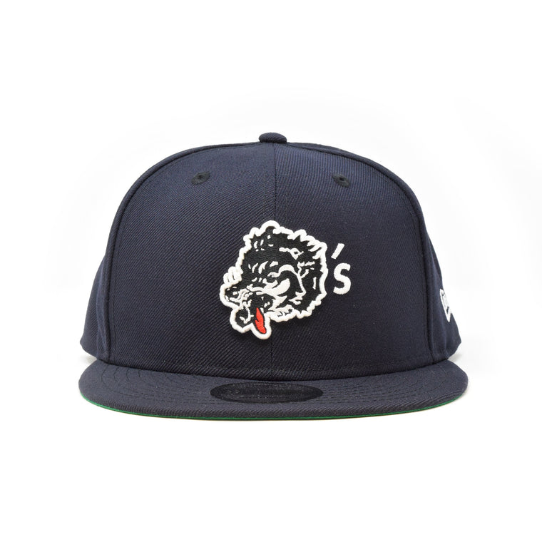 New Era For Wolf's Head - Dark Navy Baseball Cap