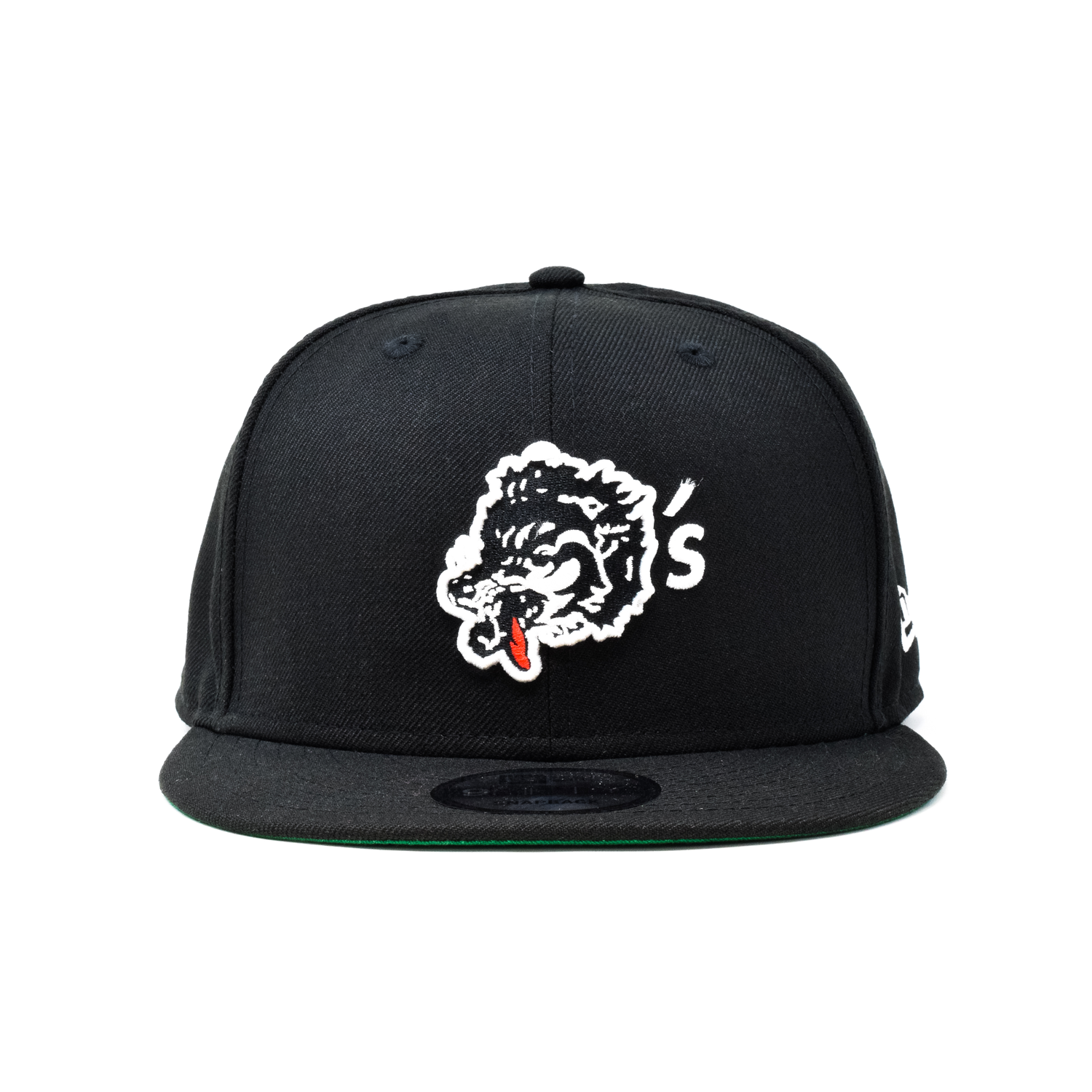 New Era For Wolf's Head - Black Baseball Cap