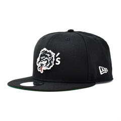 New Era For Wolf's Head - Black Baseball Cap | WOLF'S HEAD