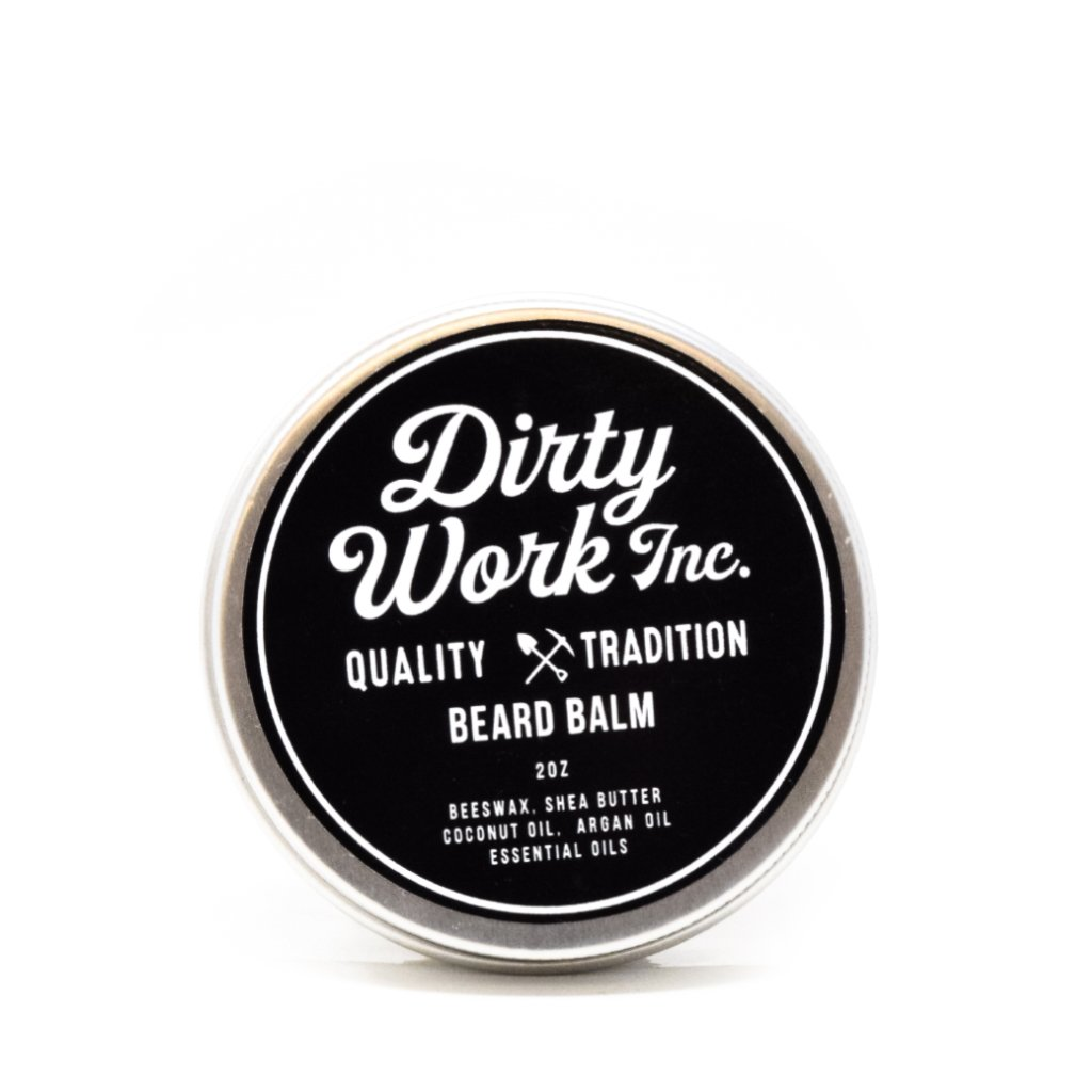Dirty Work Inc. USA Beard Balm | WOLF'S HEAD