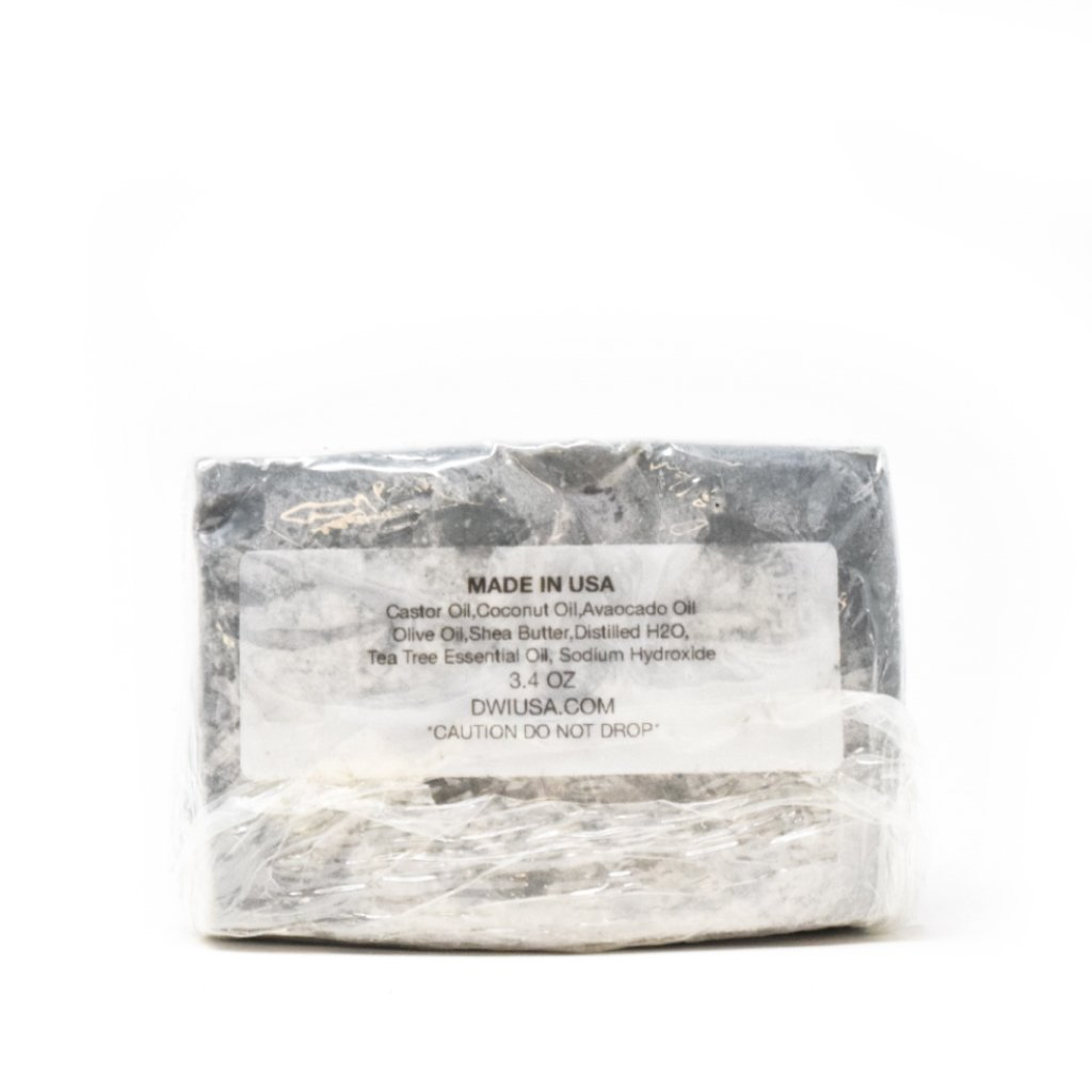Dirty Work Inc. USA Activated Charcoal Face Bar | WOLF'S HEAD