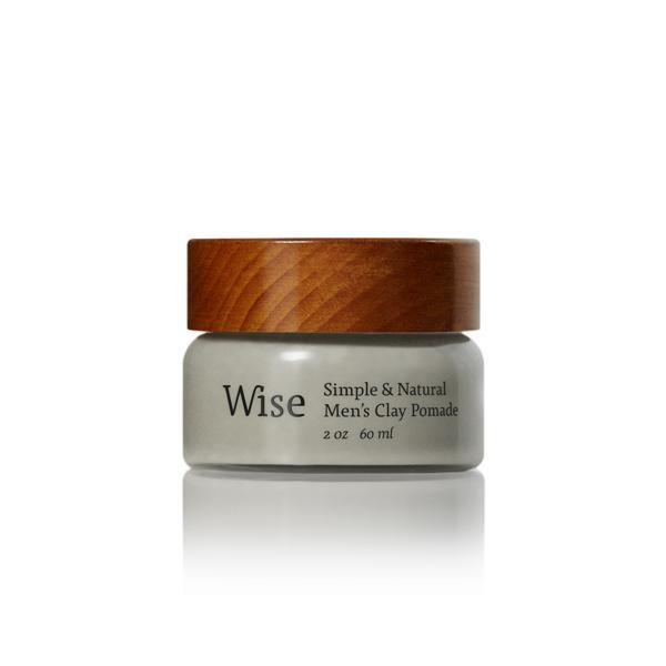 Wise Glacier Clay Pomade | WOLF'S HEAD