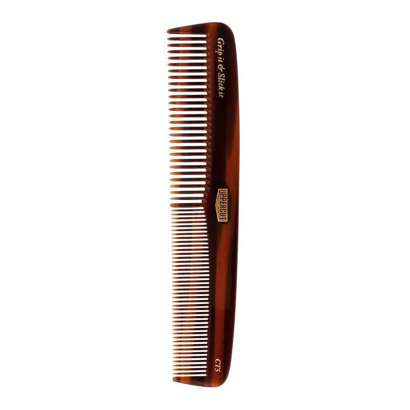 Uppercut Deluxe CT5 Tortoise Shell Comb | WOLF'S HEAD