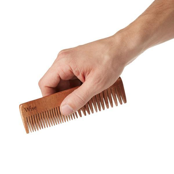 Wise Neem Wood Comb | WOLF'S HEAD