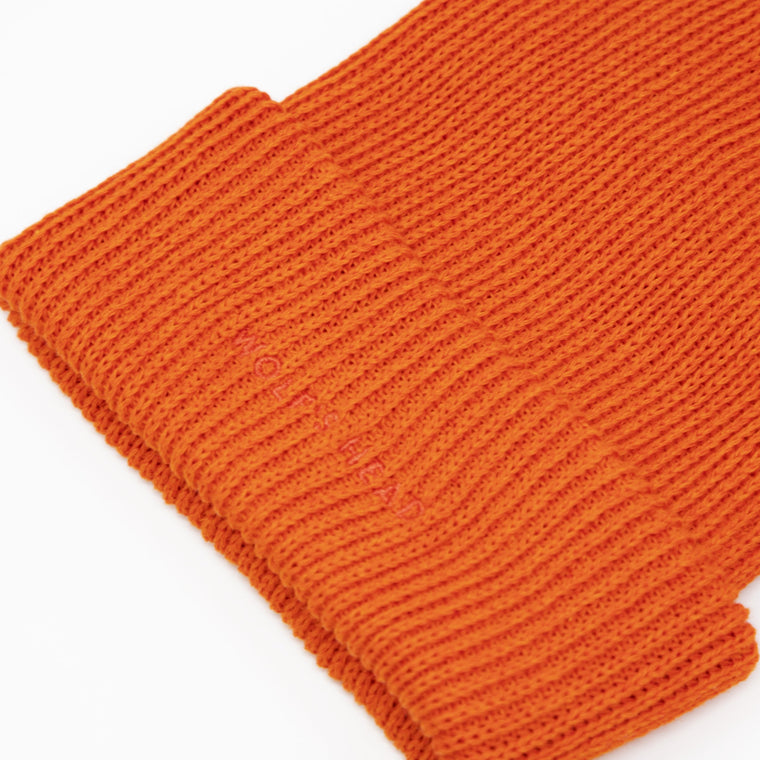 Wolf's Head Tonal Beanie - Orange