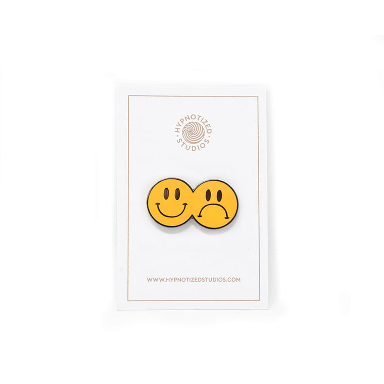 Hypnotized Studios Smile Now Cry Later Lapel Pin