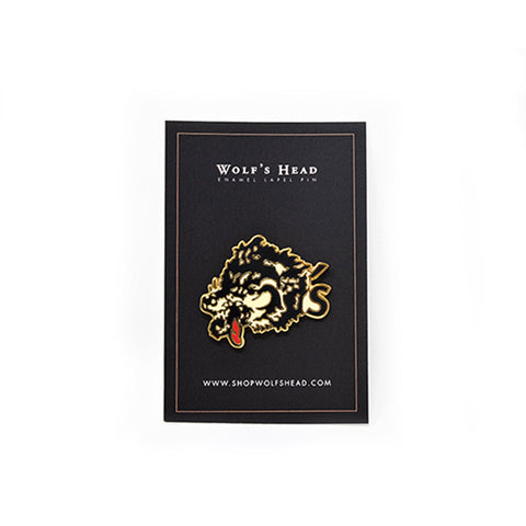 Wolf's Head Club Lapel Pin | WOLF'S HEAD