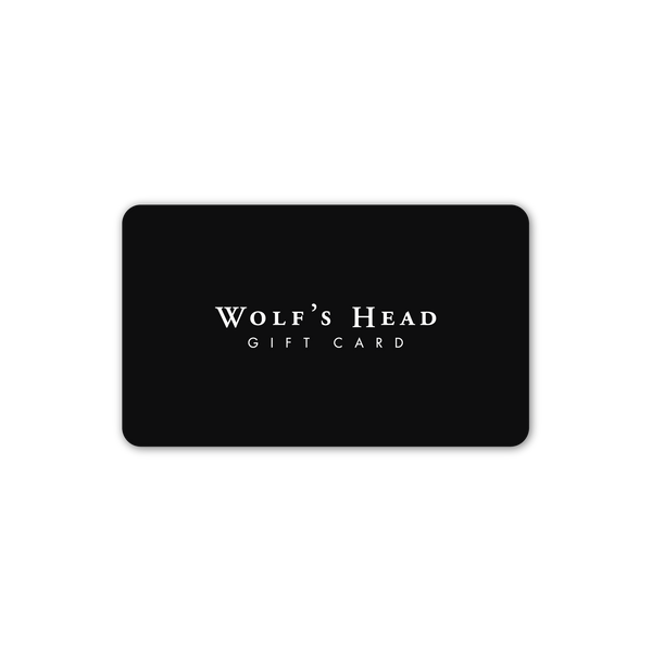 Wolf's Head Gift Card | WOLF'S HEAD