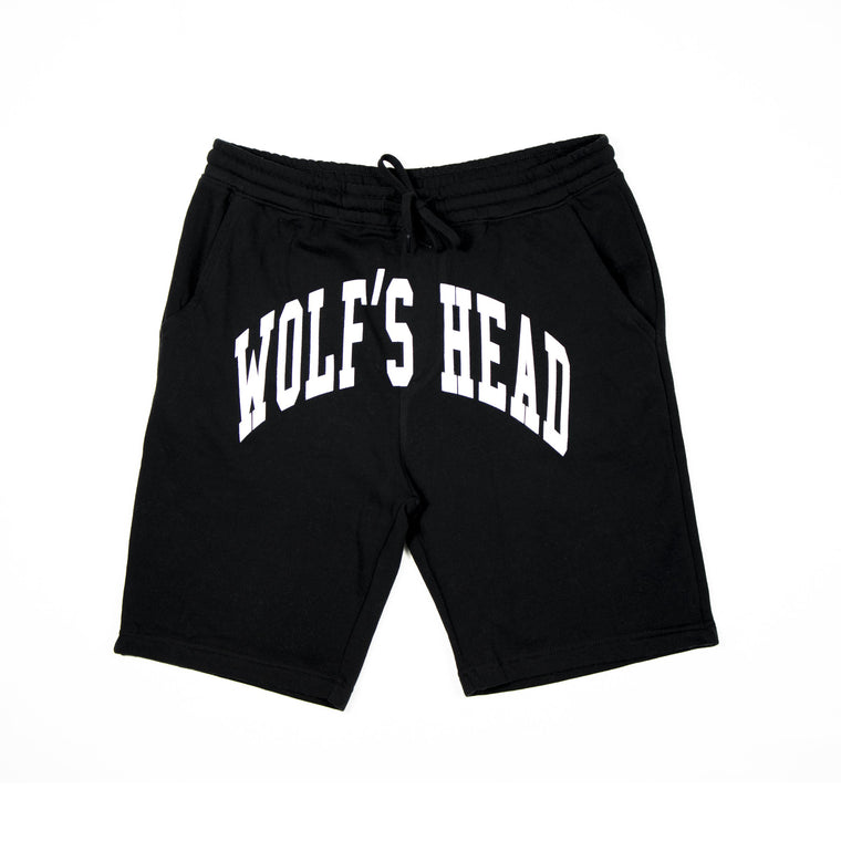 Wolf's Head Arch Shorts - Black