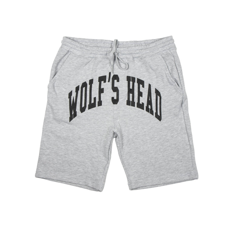 Wolf's Head Arch Shorts - Heather Grey
