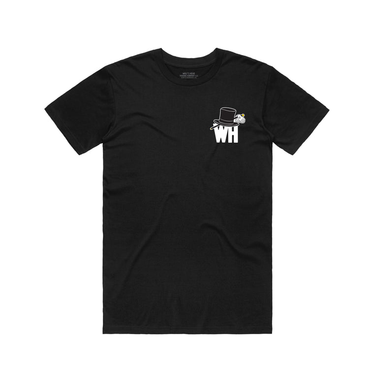 Wolf's Head Car Club T-Shirt -Black