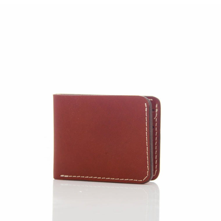Wolf's Head Bi-Fold Leather Wallet