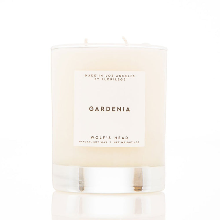 Wolf's Head Gardenia Soy Candle