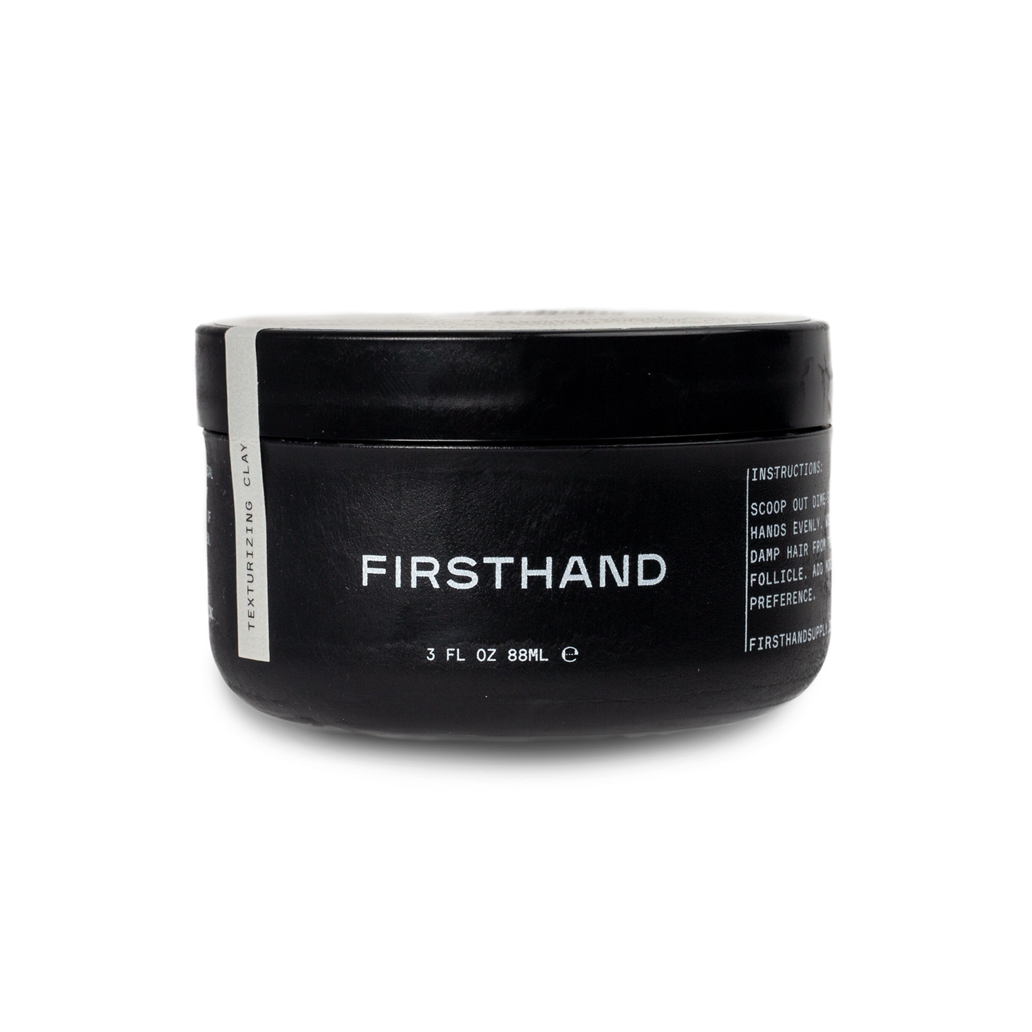 Firsthand Supply Texturizing Clay Pomade | WOLF'S HEAD