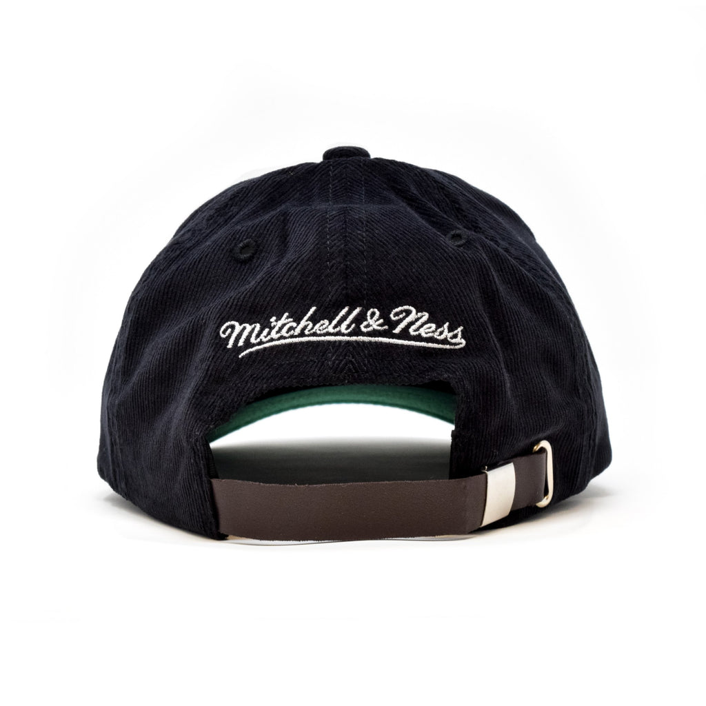 Wolf's Head Pre-Curved Corduroy Baseball Hat by Mitchell & Ness | WOLF'S HEAD