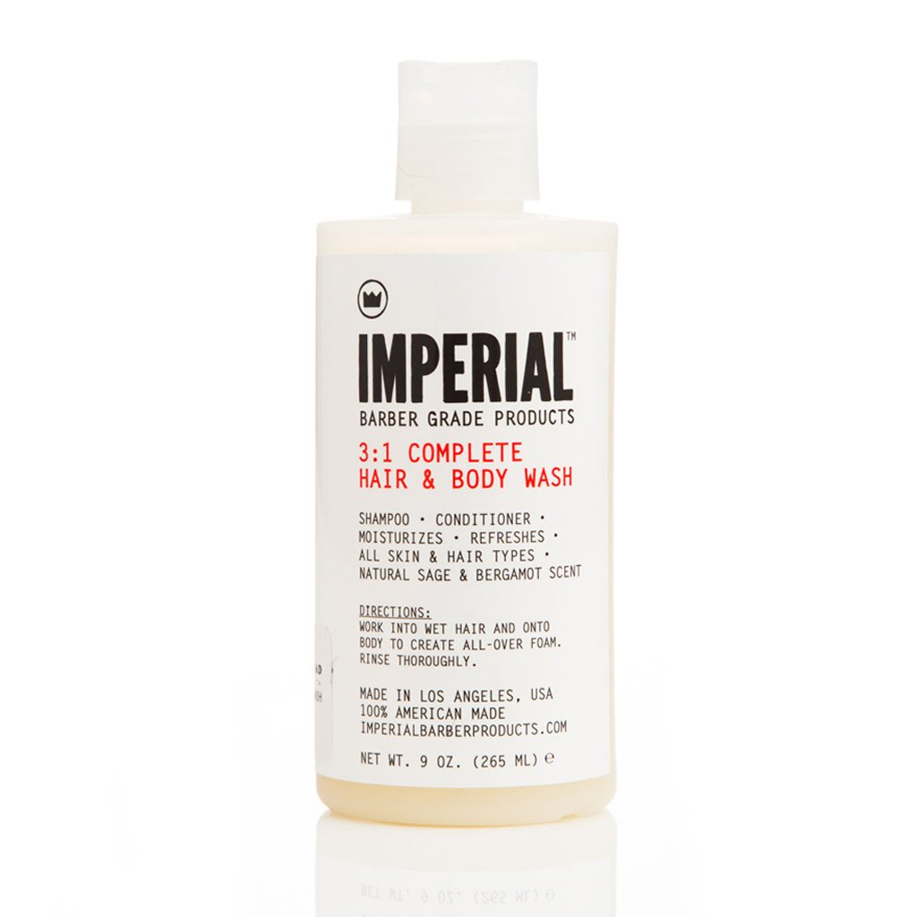 Imperial 3 in 1 Complete Hair & Body Wash | WOLF'S HEAD