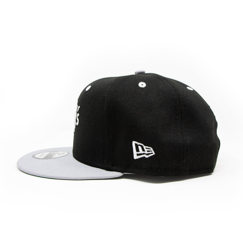 New Era For Wolf's Head - Black and Grey Baseball Cap