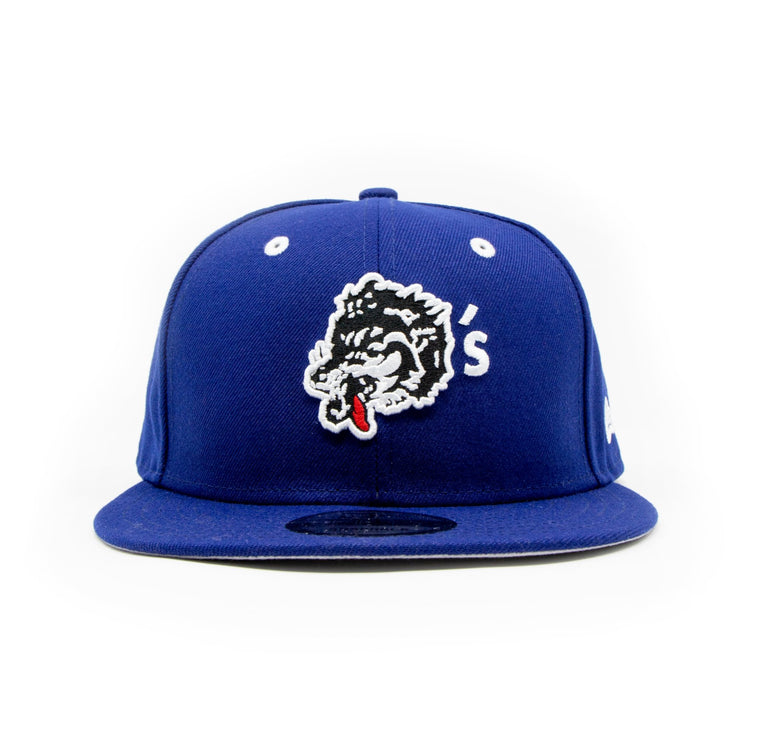 New Era For Wolf's Head - Royal Blue Baseball Cap