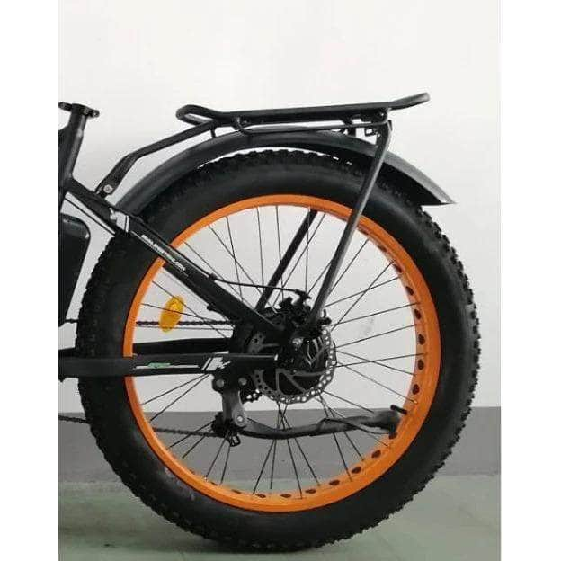 Ecotric Rear Rack and Fenders for 26inch Fat Beach Snow Bike and Rocket