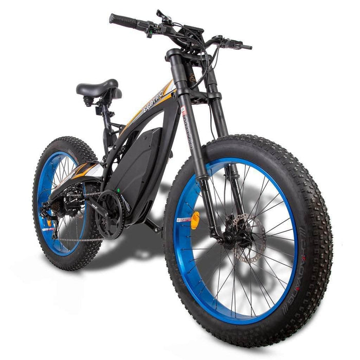 Ecotric Electric Bikes Ecotric Big Fat Tire Electric Bike Bison