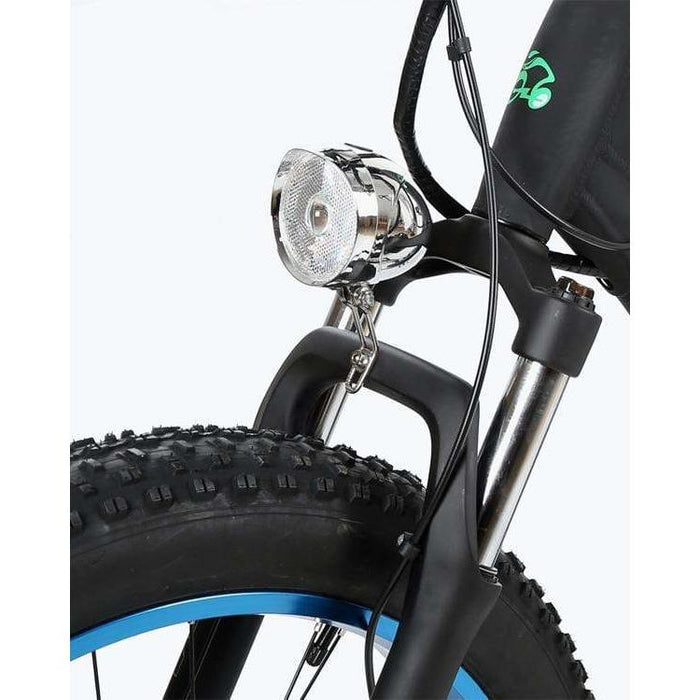Ecotric Hammer 1000W Electric Fat Tire Cruiser Bike