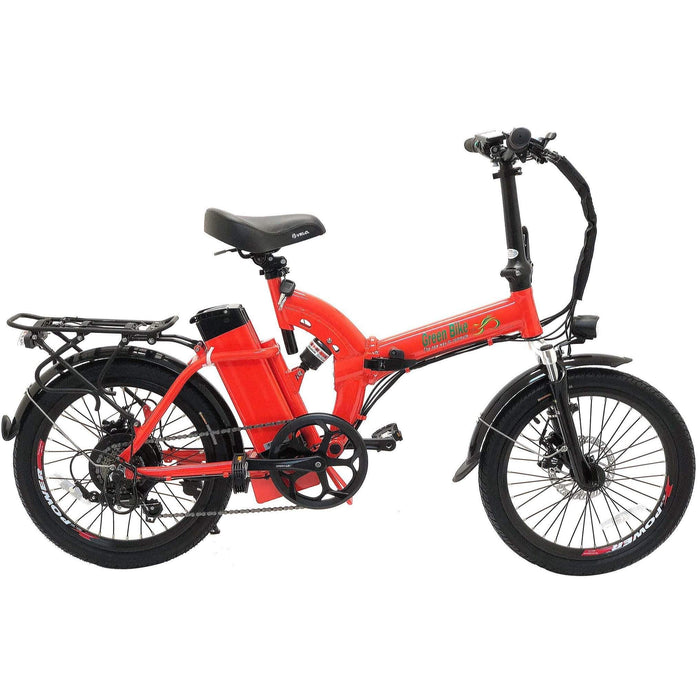 Green Bike USA GB5 350W Folding Electric City Bike