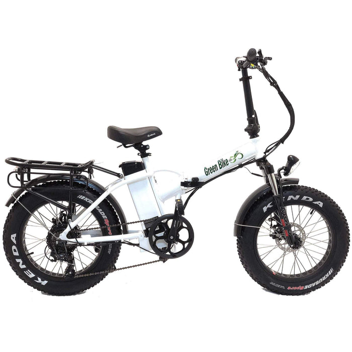 Greenbike USA GB1 500W Folding Electric Fat Tire Bike