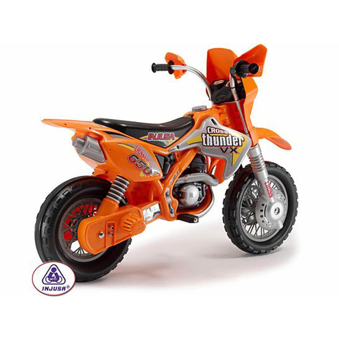 Injusa Battery Operated Motocross Drift ZX Kids Dirt Bike 12v