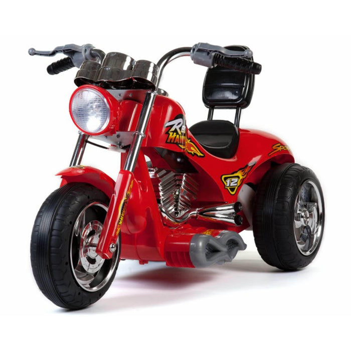 Mini Motos Battery Operated Red Hawk Motorcycle 12v Red