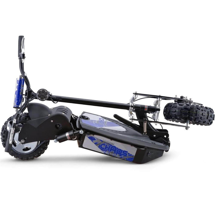MotoTec Electric Powered Chaos 2000w 60v Electric Scooter Black
