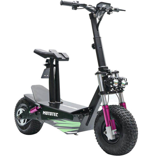 MotoTec Electric Scooter MotoTec Mars 60v 2500w Electric Scooter