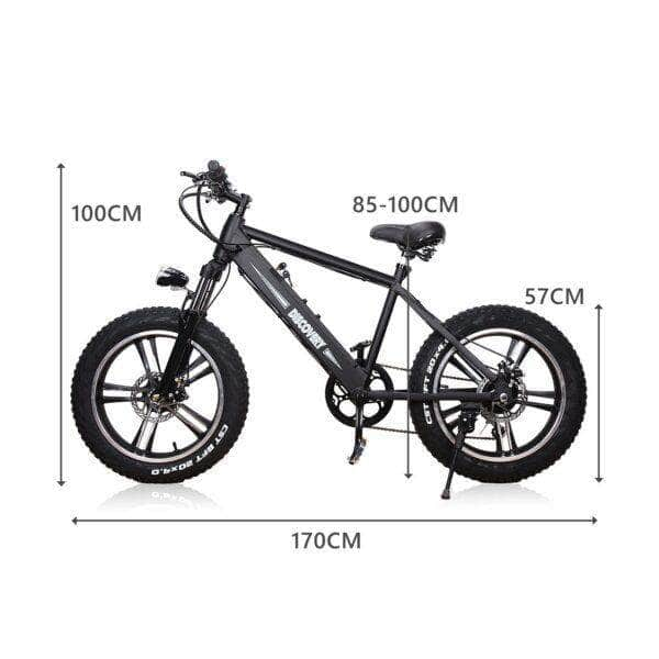 "Nakto 20"" Discovery Fat Tire Electric Bike"