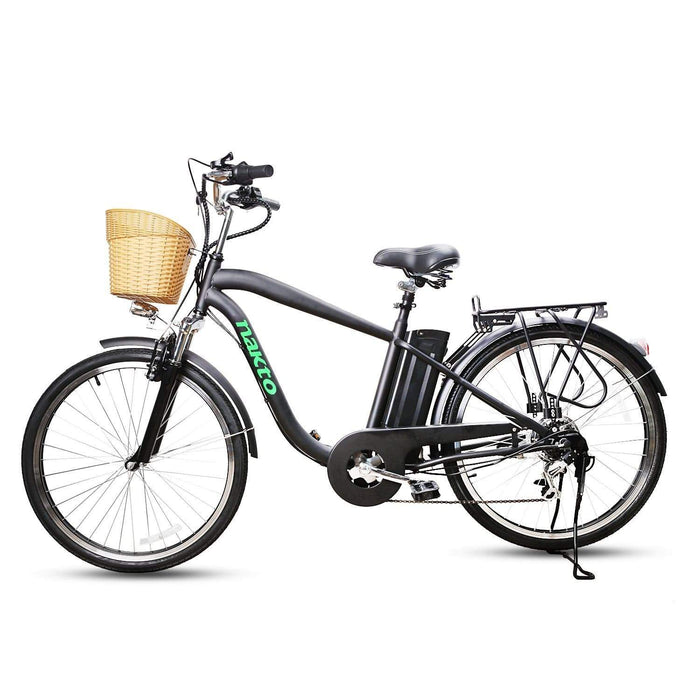 "NAKTO CAMEL Men 26"" 250W Electric Cruiser Bike"