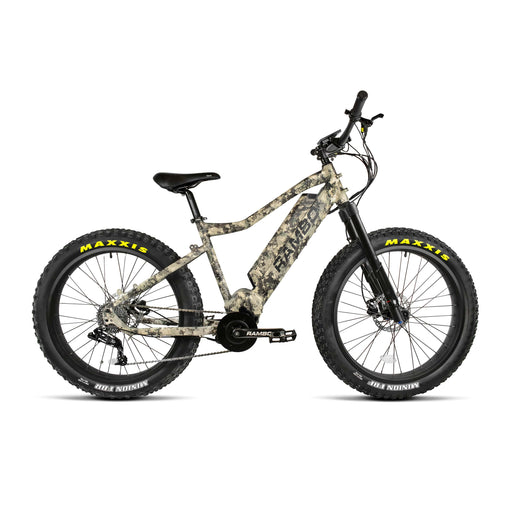 Rambo Electric Bikes Camouflage Rambo Nomad Electric Mountain Bike