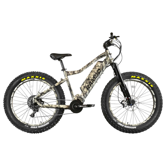 Rambo Electric Bikes Camouflage Rambo Rebel Electric Mountain Bike