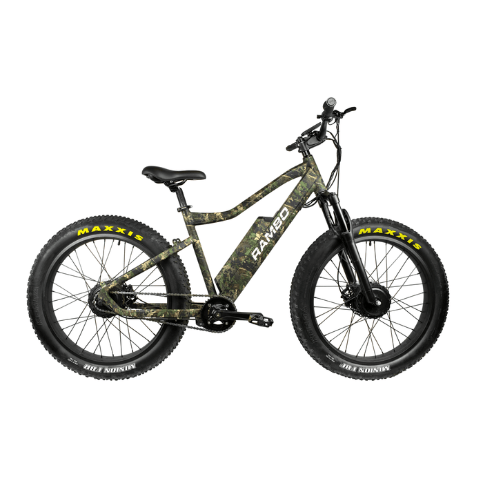 Rambo Electric Bikes Rambo Krusader Electric Mountain Bike
