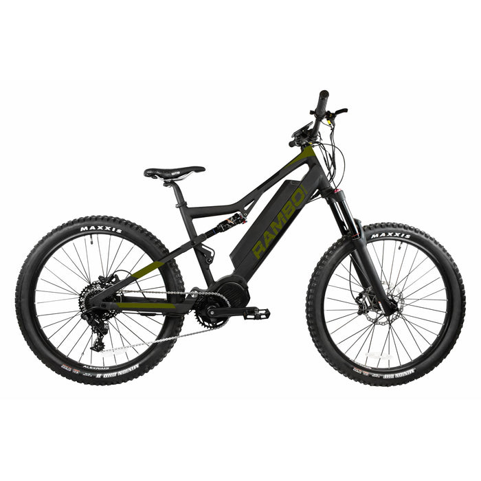 Rambo Electric Bikes Rambo Rampage Electric Mountain Bike