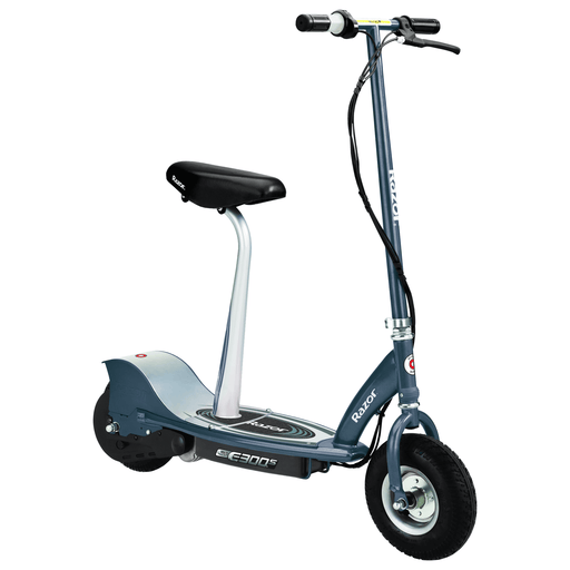 Razor Electric Scooter Razor E300S Electric Scooter Seated