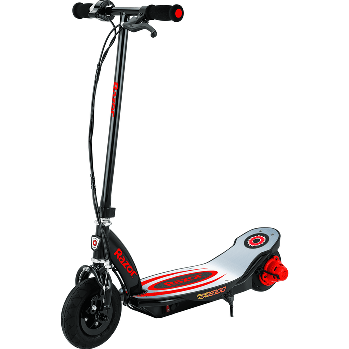 Razor Electric Scooter Red Razor Power Core E100 Electric Scooter Aluminum Deck