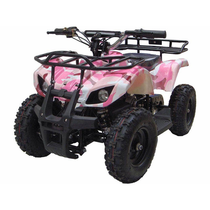 Urban Bikes Direct Pink MotoTec 24v Kids ATV v4