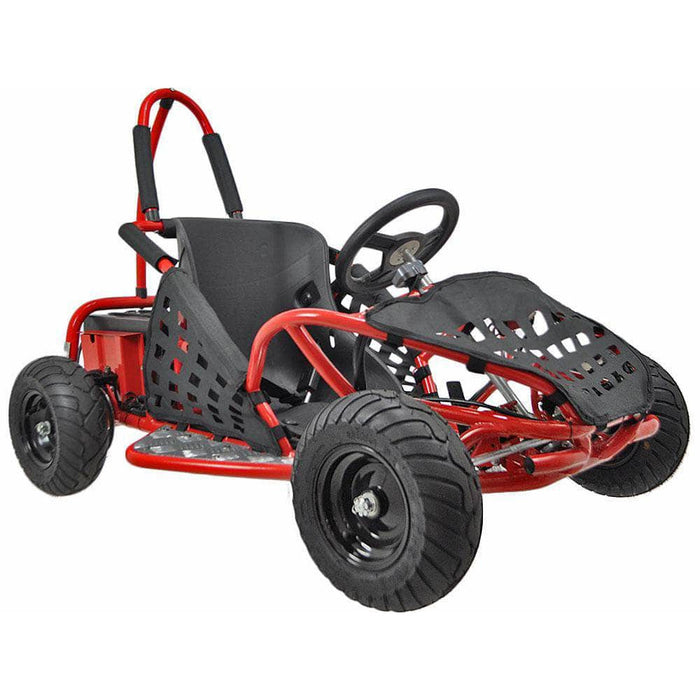 Urban Bikes Direct Red MotoTec Off Road Go Kart 48v 1000w