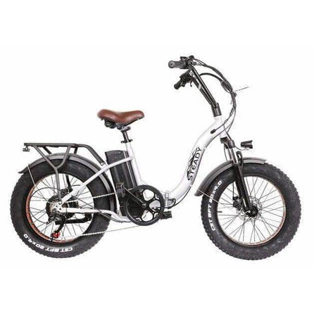 Urban Bikes Direct Silver Nakto Steady Electric City Bike