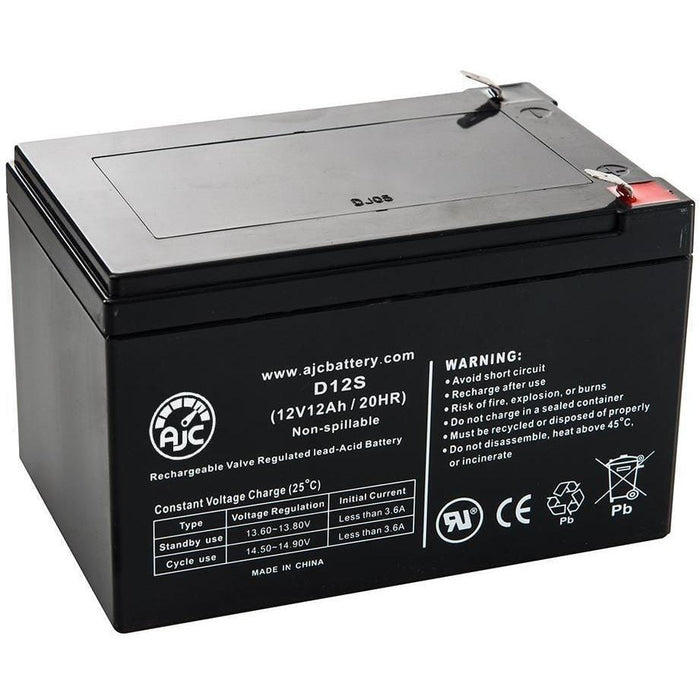X-Treme 12V12AH Electric Scooter Battery For XB504 (Includes (4) 12V Batteries)